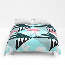 flamingo all days Comforters
