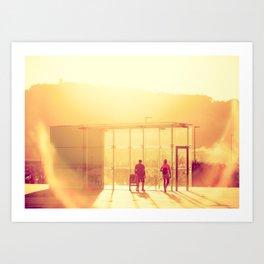 Barceloneta CH Art Print