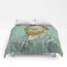 Vincent van Gogh - Self Portrait Comforters