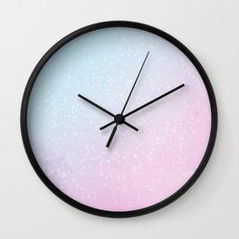 Dawn at Wonder Lake Wall Clock