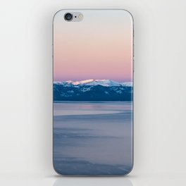 View of Lake Tahoe from Incline Village. Nevada. USA. iPhone Skin