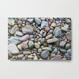 Pebbles -2- Isle of Skye Metal Print