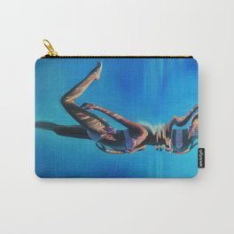 Dancing in the blue abyss Carry-All Pouch