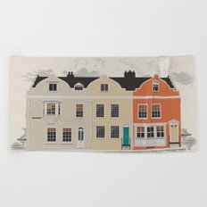 Lombard St. Portsmouth Beach Towel