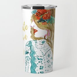 Radiate Positive Vibes Travel Mug