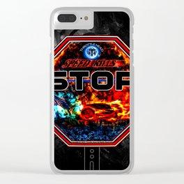 Throttle Head- Speed Kills Clear iPhone Case