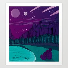 Stargazers Art Print