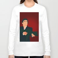 scarface Long Sleeve T-shirts featuring Scarface by Tom Storrer