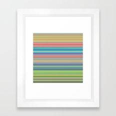 STRIPES17 Framed Art Print