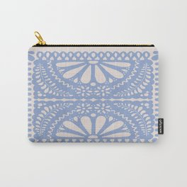 Fiesta de Flores Serenity Blue Carry-All Pouch