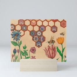 Honeycomb Factory Mini Art Print