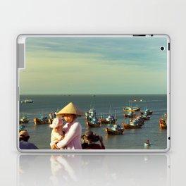 fishing village Laptop & iPad Skin