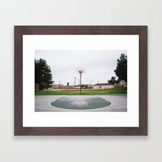 Basketball Sanctuary Framed Art Print
