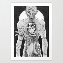 The Antares' Warlord Art Print