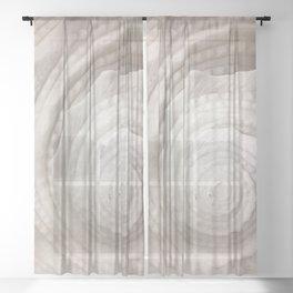 Seashell Sheer Curtain
