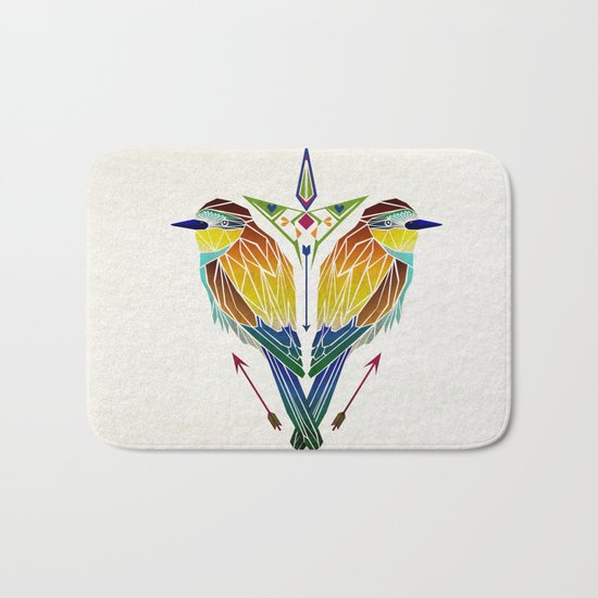 birds love Bath Mat