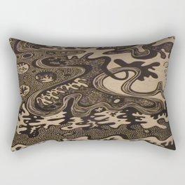 The Great Divide Part II Rectangular Pillow