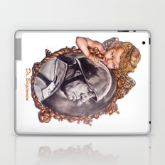 COME BACK OR LEAVE By Davy Wong Laptop & iPad Skin