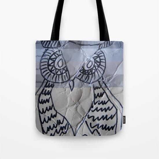 gray owl 02 Tote Bag