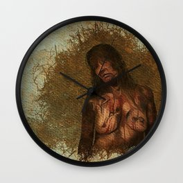 Zombie Woman Mark One Wall Clock