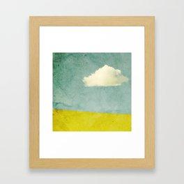 One Cloud Framed Art Print
