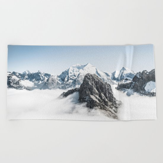 Mountain 7 Beach Towel