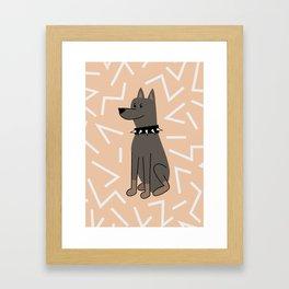 The Doberman Framed Art Print