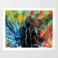 sith Art Prints featuring Sith by MSG Imaging