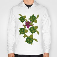turtles Hoodies featuring Turtles  by MillennialBrake