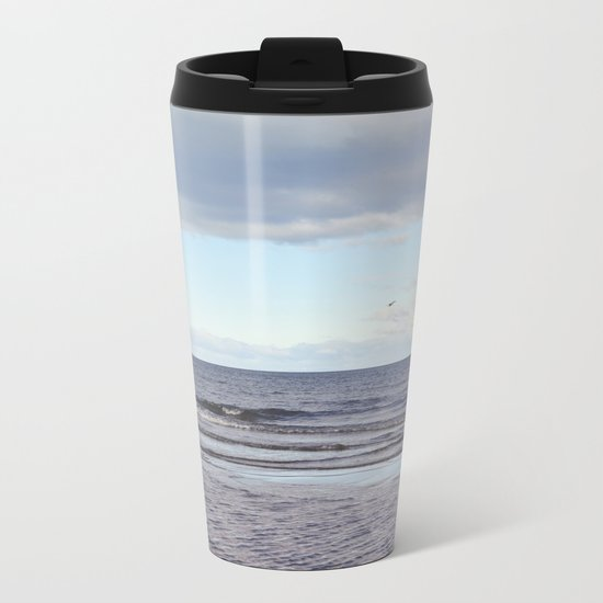 Oceano Pacifico Metal Travel Mug