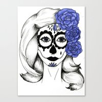 gothic Canvas Prints featuring Gothic by bexchalloner