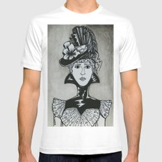 Chastity White MEDIUM Mens Fitted Tee