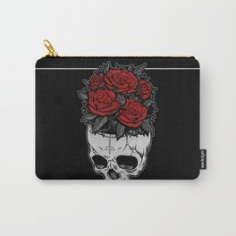 Death Roses Carry-All Pouch
