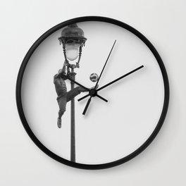 Montmartre Guy - Paris  Wall Clock