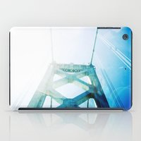 oakland iPad Cases featuring oakland bay bridge  by Ciara Rose Photography