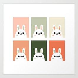 bunnys Art Print