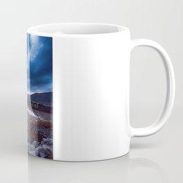 Dark Skies at Eilean Donan Castle Coffee Mug