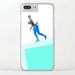 Jasephine Balances Herself Clear iPhone Case