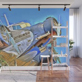 Junkers Ju 52 Pop Art Wall Mural