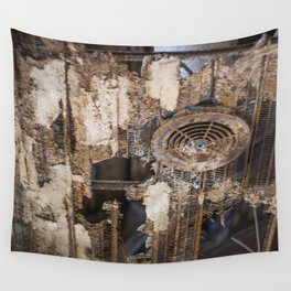 Rusty Cage Wall Tapestry
