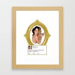 RIH Framed Art Print