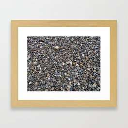 What Stories You Could Tell... Rocks of Jasper Beach Framed Art Print