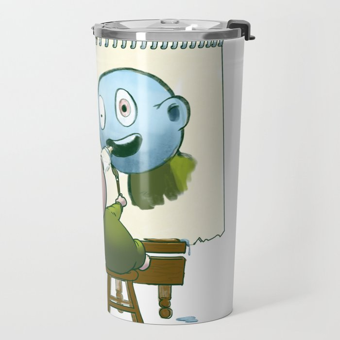 Baby Norman Zombiewell Travel Mug