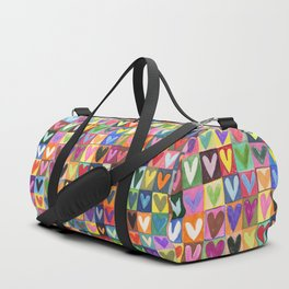 Many hearts and colours Duffle Bag