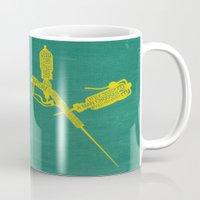 bioshock Mugs featuring Bioshock Typography by Kody Christian