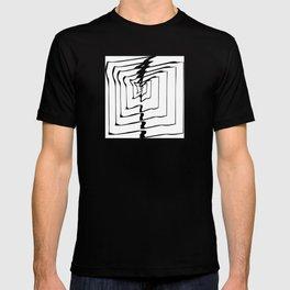 Square Line Mandala T-shirt