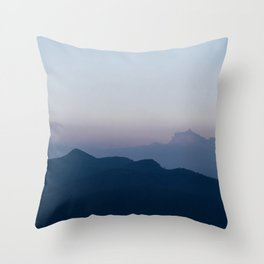 Magic | sky photography Throw Pillow