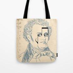 Franz Schubert Tote Bag