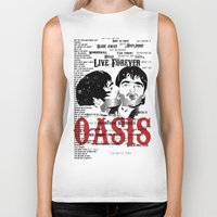 oasis Biker Tanks featuring Oasis by Colo Design