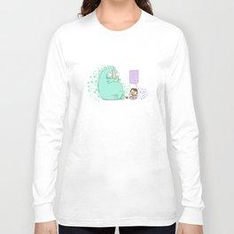 Monster and Tea Long Sleeve T-shirt